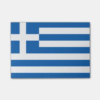 Flagge von Griechenland Posten-it® Anmerkungen Post-it Klebezettel