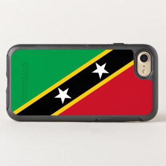 Flagge von Heiliges Kitts und Nevis OtterBox OtterBox Symmetry iPhone 8/7 Hülle