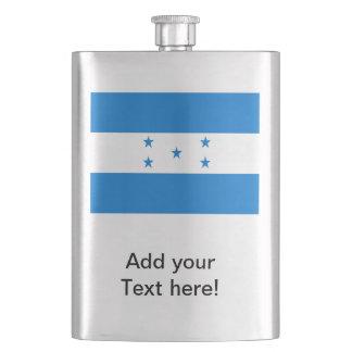 Flagge von Honduras Flachmann