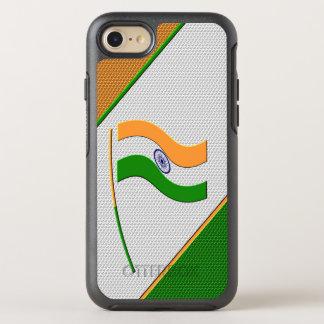 Flagge von Indien OtterBox Symmetry iPhone 8/7 Hülle