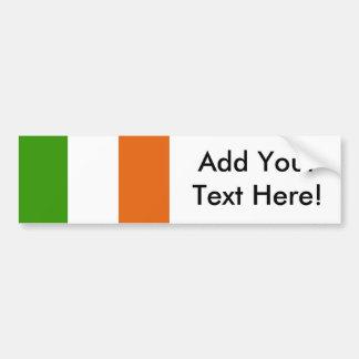 Flagge von Irland Autoaufkleber