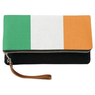 Flagge von Irland Clutch