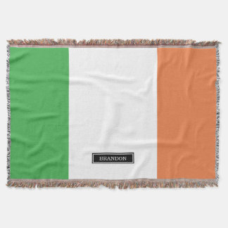 Flagge von Irland Decke