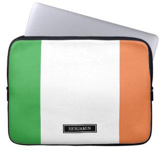 Flagge von Irland Laptop Sleeve
