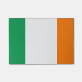 Flagge von Irland Posten-it® Anmerkungen Post-it Klebezettel