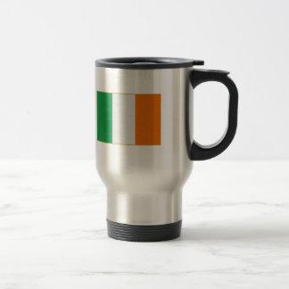Flagge von Irland Reisebecher
