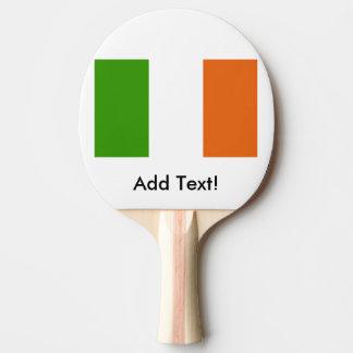Flagge von Irland Tischtennis Schläger
