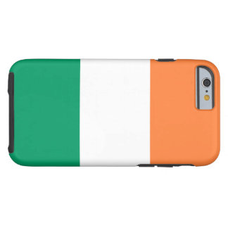 Flagge von Irland Tough iPhone 6 Hülle