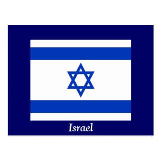 Flagge von Israel Postkarte