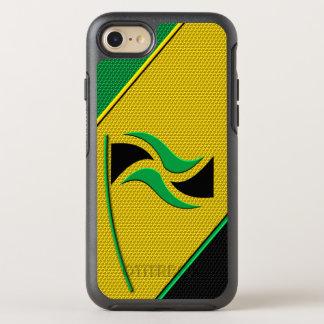 Flagge von Jamaika OtterBox Symmetry iPhone 8/7 Hülle
