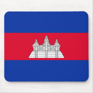 Flagge von Kambodscha Mousepad