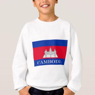 Flagge von Kambodscha Sweatshirt