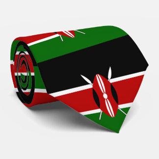 Flagge von Kenia Personalisierte Krawatten