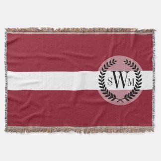 Flagge von Lettland Decke
