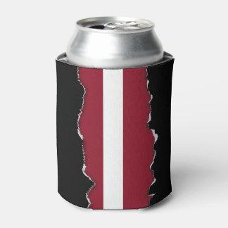Flagge von Lettland Dosenkühler