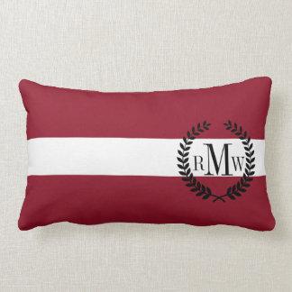 Flagge von Lettland Lendenkissen