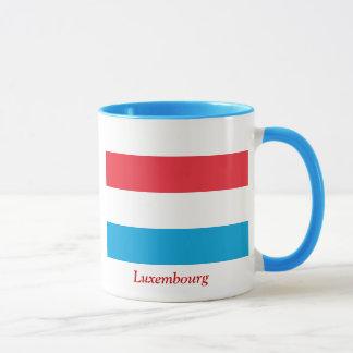 Flagge von Luxemburg Tasse