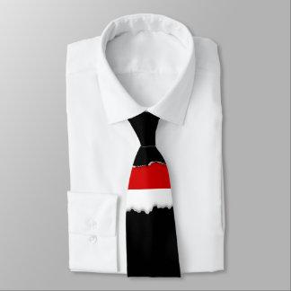 Flagge von Monaco Individuelle Krawatten