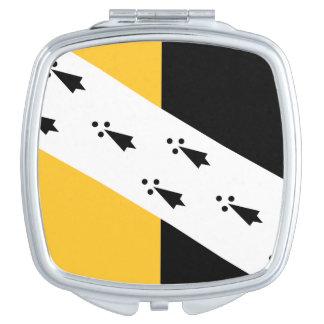 Flagge von Norfolk County, England kompakter Schminkspiegel