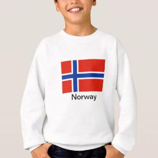 Flagge von Norwegen Sweatshirt