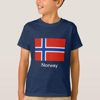 Flagge von Norwegen T-Shirt