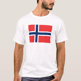 Flagge von Norwegen- T - Shirt