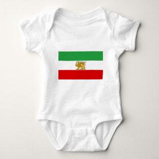 Flagge von Persien/von Iran (1964-1980) Baby Strampler