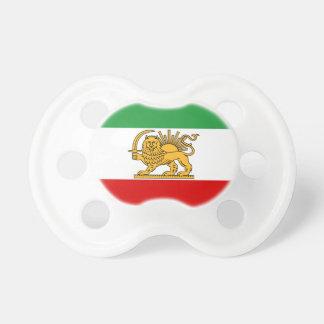 Flagge von Persien/von Iran (1964-1980) Schnuller