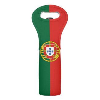 Flagge von Portugal Weintasche