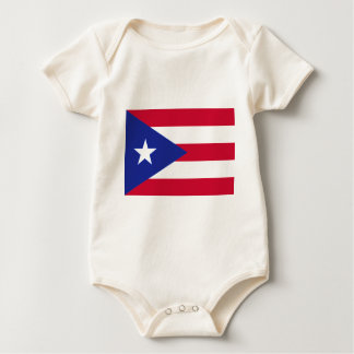 Flagge von Puerto- Rico - Banderade Puerto Rico Baby Strampler