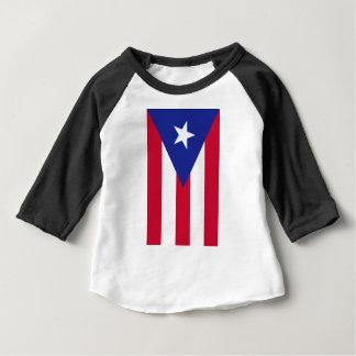 Flagge von Puerto- Rico - Banderade Puerto Rico Baby T-shirt