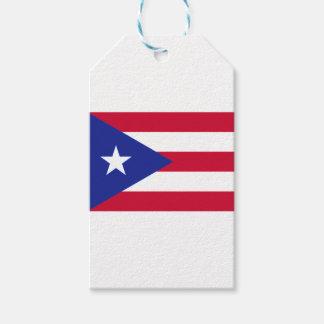 Flagge von Puerto- Rico - Banderade Puerto Rico Geschenkanhänger