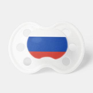 Flagge von Russland - ФлагРоссии - Триколор Schnuller