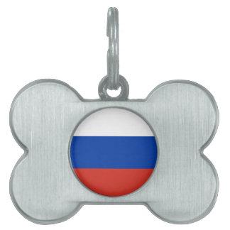 Flagge von Russland - ФлагРоссии - Триколор Tiermarke
