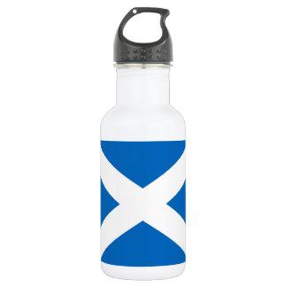 Flagge von Schottland oder von Saltire Edelstahlflasche