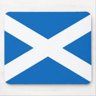Flagge von Schottland oder von Saltire Mauspad