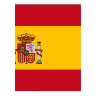 Flagge von Spanien - Bandera de España - spanische Postkarte