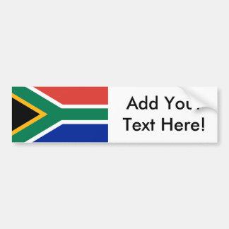 Flagge von Südafrika Autoaufkleber