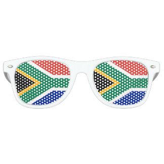 Flagge von Südafrika Retro Sonnenbrillen