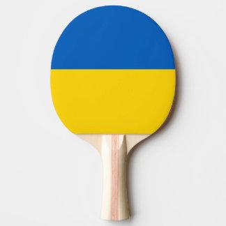 Flagge von Ukraine-Klingeln Pong Paddel Tischtennis Schläger