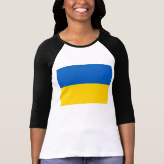 Flagge von Ukraine T-Shirt