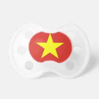 Flagge von Vietnam - Quốc kỳ Việt Nam Schnuller