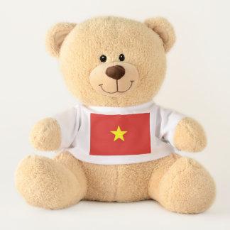 Flagge von Vietnam Teddy