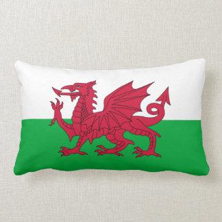 Flagge von Wales-Kissen Zierkissen