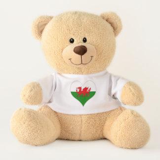 Flagge von Wales Waliser Baner Cymru Teddy
