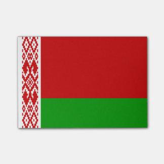Flagge von Weißrussland Posten-it® Anmerkungen Post-it Klebezettel