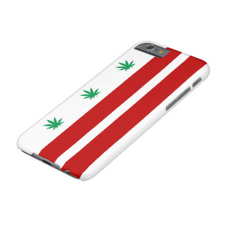 Flagge Washingtons D.C. Pot Leaf Barely There iPhone 6 Hülle