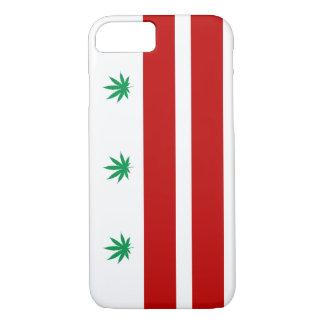 Flagge Washingtons D.C. Pot Leaf iPhone 8/7 Hülle