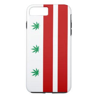 Flagge Washingtons D.C. Pot Leaf iPhone 8 Plus/7 Plus Hülle