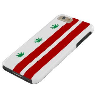 Flagge Washingtons D.C. Pot Leaf Tough iPhone 6 Plus Hülle
